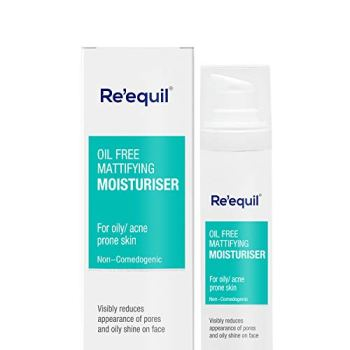 Oil Free Mattifying Moisturiser - 50g | Re'equil
