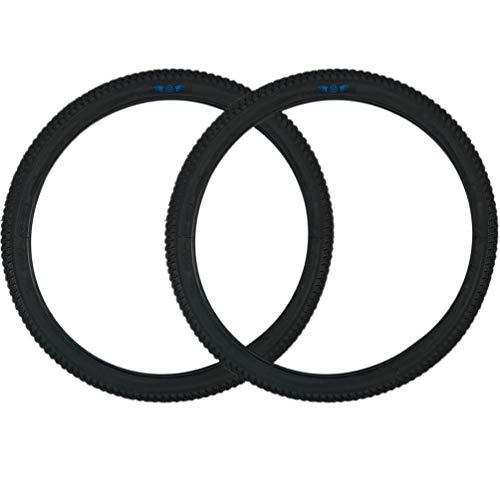 SE Bikes Cub 20 x 2.0 BMX OEM Replacement All Terrain Dirt Street Wire Bead Two Bike Tire Pair (Black)
