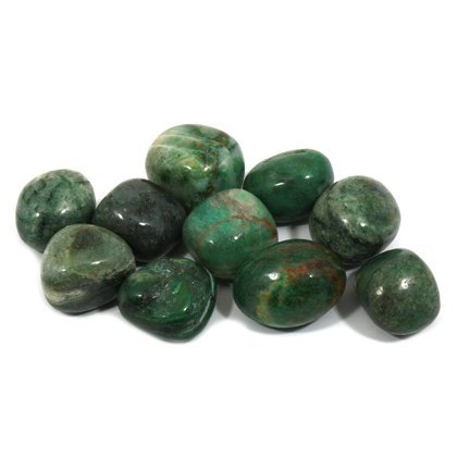 CrystalAge African Jade Tumble Stone (20-25mm) - Pack of 5