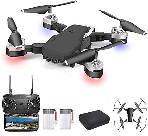 OBEST Drone con TelecameraHD 1080P, WiFi FPV Live Video con telecomando mobile 2.4Ghz, 3D VR, modalit senza testa, mantenimento dell'altitudine, modalit volo a 3 velocit