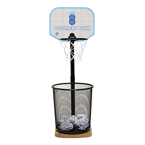 The Dunk Collection - Document Dunk -The Trash Can Basketball Hoop for...