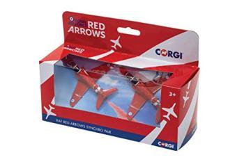 Corgi CS90687 Arrows Synchro Pair, Red, Twin Pack