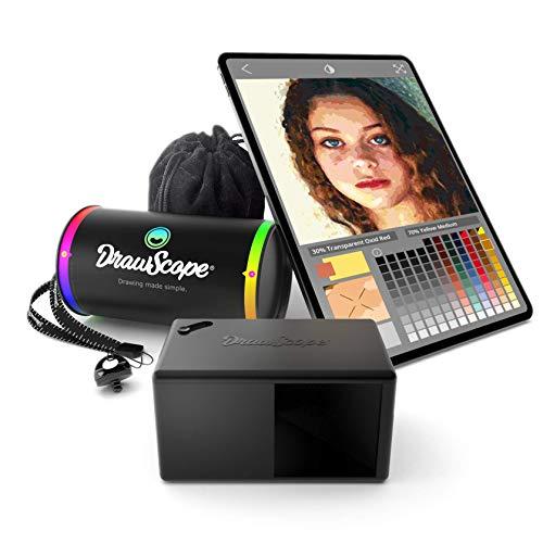 DrawScope - Proiettore per artisti   Un dispositivo ottico e una app per imparare a dipingere come un professionista.