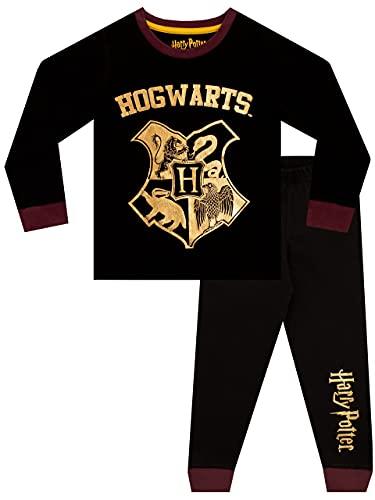 HARRY POTTER Pigiama per Ragazzi Hogwarts Nero 12-13 Anni