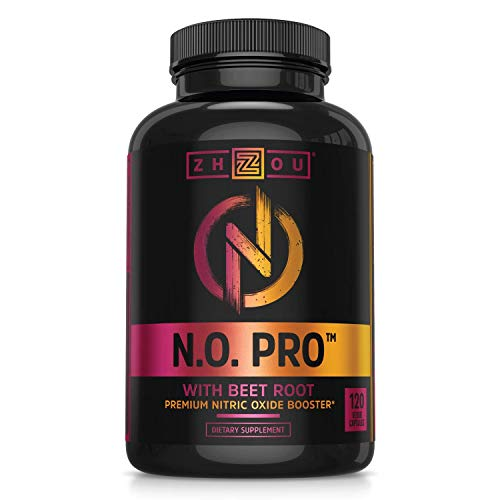 Zhou Nutrition Nitric Oxide Supplement with L Arginine