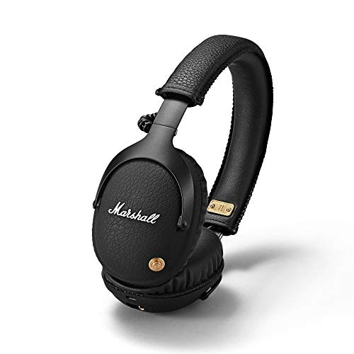 Marshall 4091743 Monitor Bluetooth Cuffie senza Fili Bluetooth, Nero, 16 X 16 X 10,4 cm