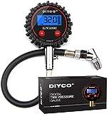 DIYCO D1 Elite Series Digital Tire Pressure Gauge   5-150 PSI   Professional Grade