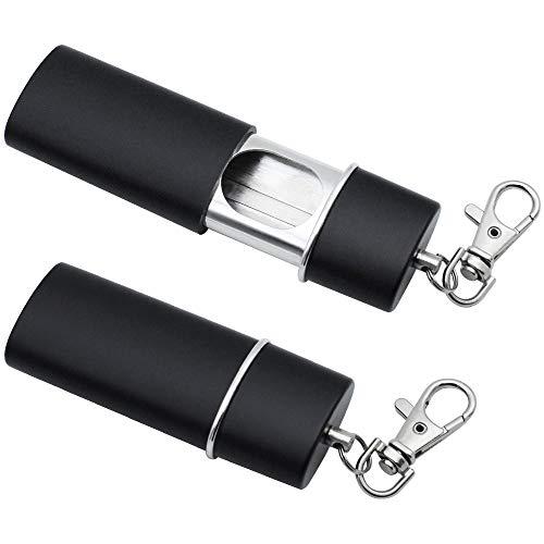 NewZC Lot de 2 Mini Cendriers de Poche Cendriers Portables Anti-Odeur avec...