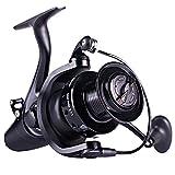 Sougayilang Spinning Fishing Reel,12+1BB Metal Body Smooth, Carp Spinning Reels, for Saltwater and Freshwater Fishing-BE5000