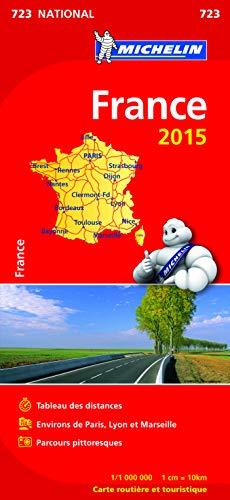Mapa. Francia (Formato Atlas) 11723 (15) (Mapas National Michelin)