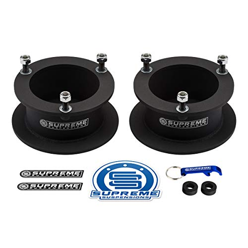 Supreme Suspensions - 3' Front Leveling Kit for 1994-2013 Dodge Ram 2500 3500 and 1994-2001 Dodge Ram 1500 High-Strength Steel Spring Spacers Lift Kit 4WD