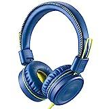 POWMEE M1 Kids Headphones Wired Headphone for Kids,Foldable Adjustable Stereo Tangle-Free,3.5MM Jack...