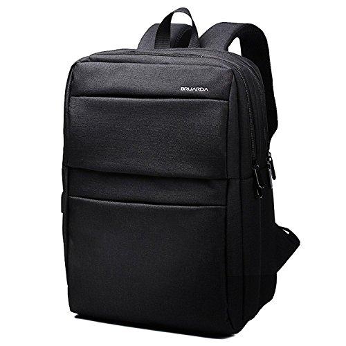 Bruarda リュック バックパック リュックサック メンズ バッグ ビジネスリュック ビジネスバック 15.6PC【USBポート付き】 (ブラック)
