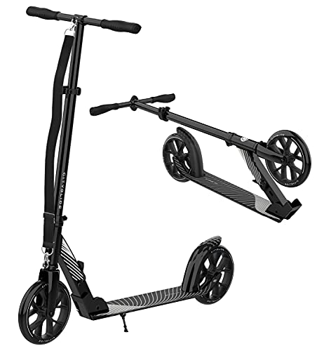 CITYGLIDE C200 Scooter for Adults, Scooters for Teens 12 Years and Up - Foldable, Lightweight, Adjustable - Kick Scooters for Kids 8 Years and Up with Carry Strap and Kickstand