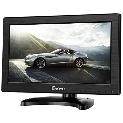 Eyoyo schermo a colori 12'pollici 1366 * 768 alta risoluzione TFT LCD CCTV HDMI HD Monitor a colori con AV/HDMI/BNC/VGA/funzione TV