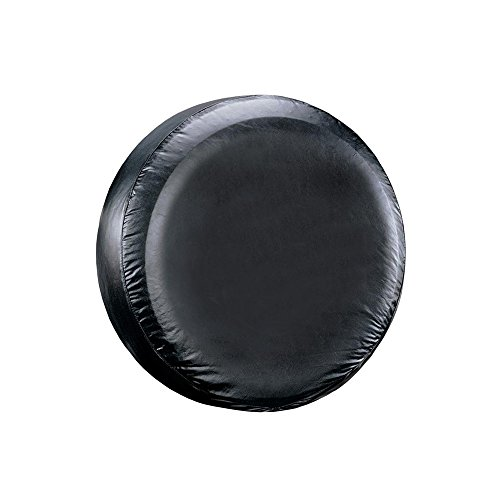 """Leader Accessories Universal 26""""-28"""" Spare Tire Cover Fit for Trailer, RV, Car, Truck Wheel, Black"""