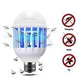 Lixada 2 en 1 15 W LED Lampe Ampoule 175-220 V Lumière électrique Piège...