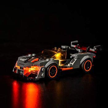 LODIY Light Kit for Lego 75892 McLaren Senna Speed Champions - LED Lights Set for McLaren Senna (Not Include Lego Model)