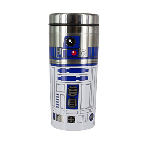 Star Wars: El último Jedi R2-D2Taza de Viaje, Multicolor