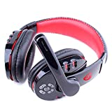 Exteren Stereo Earphone Headband Bluetooth Gaming Headset Headphones with Microphone for PS4/PC/Phone for PUBG (Black)