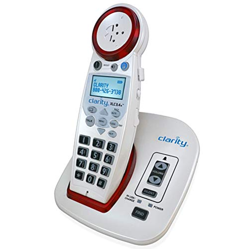 Clarity XLC3.4+ DECT 6.0 Extra Loud Big Button Speakerphone with Talking