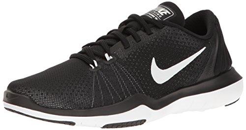 Nike Women's Black-White Multisport Training Shoes - 6 UK/India (40 EU)(8.5 US)