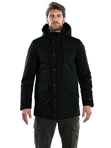 giacca piuma cape horn STORM nero taglia 52