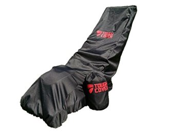 Tough Cover Premium Lawn Mower Cover. Heavy Duty 600D Marine Grade Fabric. Universal Fit. Weather, Water, UV Protection.