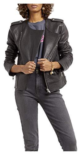 41iTmeLRdmL Textured leather Asymmetric zipper