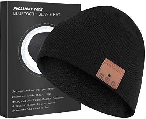 Upgraded Bluetooth Beanie Hat Headphones Wireless Headset Winter Music Hat...