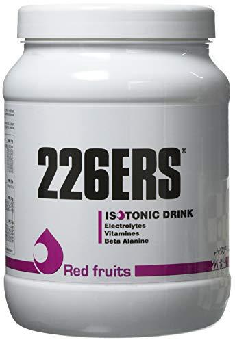 226ERS Isotonic Drink, Bebida Isotónica para Hidratación a base de Hidratos de Carbono, con Aminoácidos, Vitaminas y Minerales, Frutos Rojos - 500 gr