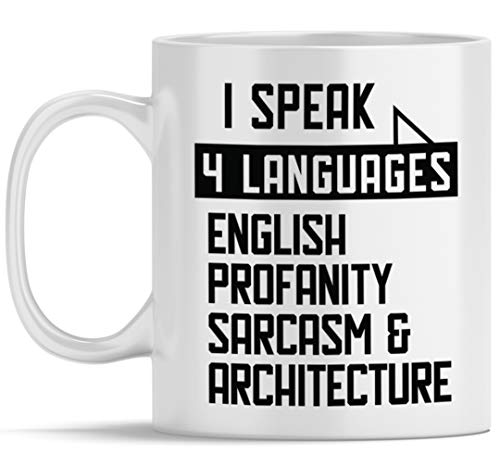 Funny Architect Coffee Mug Architecture Student, Gifts for...