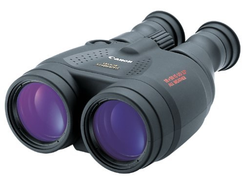 Canon 18 X 50 IS All Weather Porro II Negro Binocular - Binoculares (18x, 5 cm, Porro II, Negro, 2,8 mm, 1,5 cm)