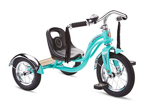 Schwinn Roadster Kids Tricycle, Classic Tricycle, Teal