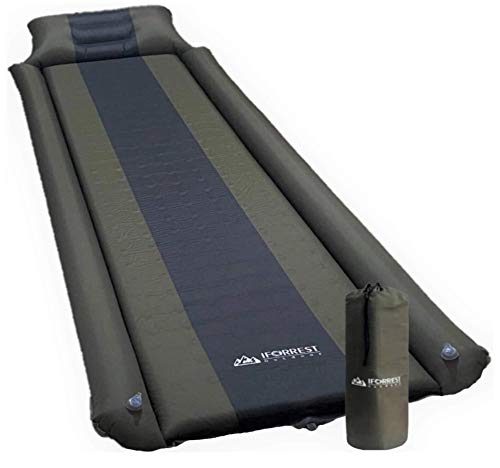 IFORREST Sleeping Pad w/Armrest & Pillow - Rollover Protection -...