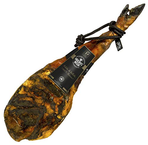 Paleta de bellota Pata Negra - Paleta de Bellota 100% (5kg - 6kg) | Curación de más de 24 meses | Iberic Box