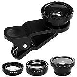 Objectif de Lentille Caméra pour Téléphone Portable Fisheye Grand Angle...