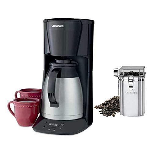 Cuisinart DTC-975BKN Programmable Automatic Brew-and-Serve 12-Cup Thermal Coffeemaker and Coffee ...