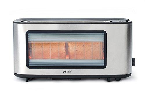 Senya sybf-t006s Toast Perfect Toaster 1200W