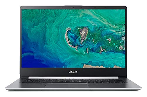 "Acer Swift SF114-32-P6M2 Ordinateur portable 13,9"" Full HD Gris (Intel Pentium, 4 Go de RAM, 64 Go eMMC, Intel HD Graphics, Windows 10) Français - Office 365 Personnel inclus - 1 an"