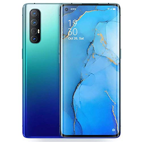 """gooplayer for Oppo Reno 3 Pro 5G Smartphone 8G+128GB 6.5"""" AMOLED Android 10 Snapdragon 765G Octa Core 4025mAh VOOC 4.0 48.0MP OTG Support Google (Blue)"""
