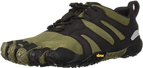 Vibram Fivefingers 19M7602 V 2.0, Scarpe da Trail Running Uomo, Verde Ivy Black, 43 EU