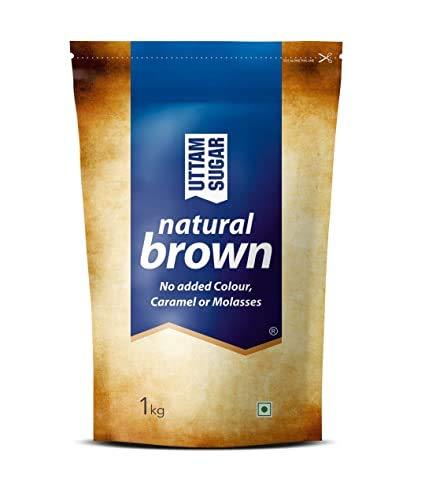 Nottacia Uttam Sugar Natural Brown Sugar, 1kg