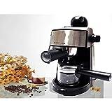 Powerful steam Espresso and Cappuccino Maker Barista Express Machine Black - Make European Espresso