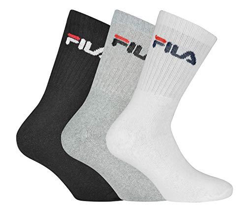 Fila F9505, Calze Unisex, Classic, 35/38