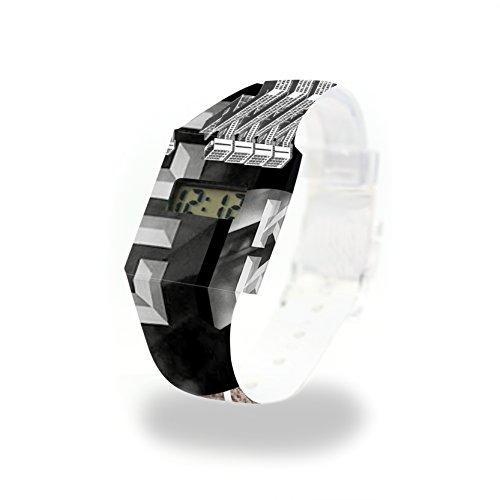 KING KONG - Pappwatch - Paperlike Watch - Digitale Armbanduhr im trendigen Design - aus absolut reissfestem und wasserabweisenden Tyvek® - Made in Germany, absolut reißfest und wasserabweisend