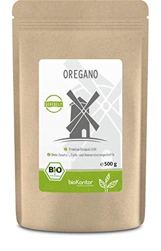 Oregano BIO gerebelt 500g - Gewürz - Origanum vulgare 100% naturrein ohne Zusätze - aus kontrolliert biologischem Anbau von bioKontor
