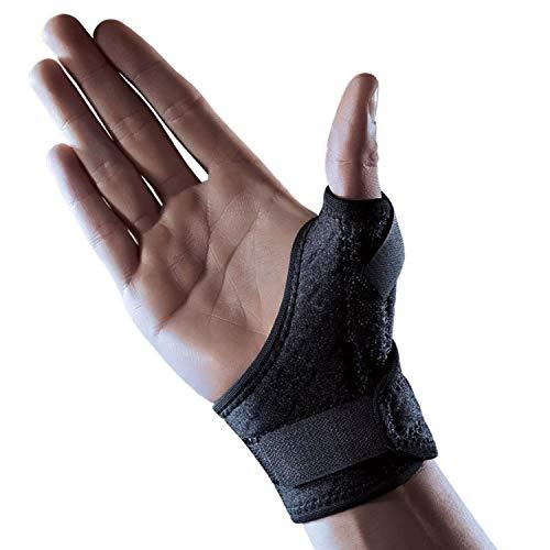 LP Support 563CA Daumen-Bandage - Daumenschutz - Daumenschiene aus der Extrem Serie, Größe:Universalgröße, Farbe:schwarz