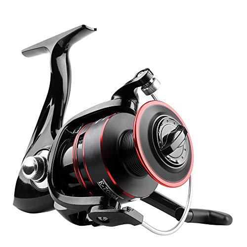 Mulinello BLTLYX Mulinello Pesca Metal Spool Spinning 12 Palla Bearing Fishing Coil Sinistra/Destra Mano Ruote Pesca Attrezzatura Serie 5000 12 Cuscinetto a sfera