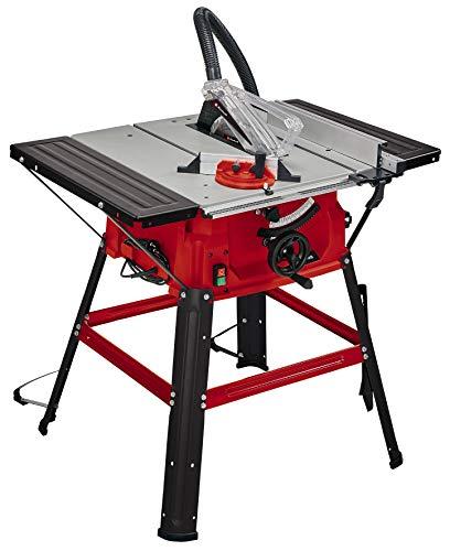 Einhell Scie circulaire sur table TC-TS2025/2U (puissance maximale 2000W, dispositif de réglage hauteur/inclinaison de la lame de scie, butée parallèle, butée d'angle +/-60°, rallonges latérales)